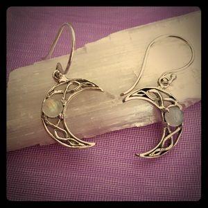 🌙 Gorgeous Moonstone Earrings